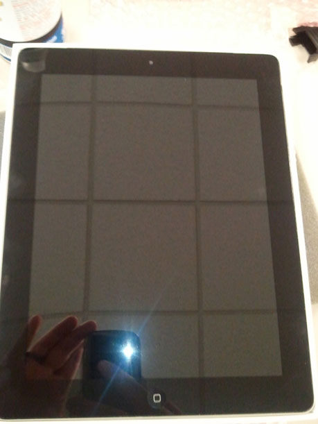 iPad 2 Cracked Glass Repair Boston
